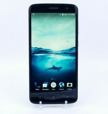 $45 • Buy ZTE Blade Spark - 16GB - Dark Gray (AT&T) - Used And Working - Clean ESN/IMEI