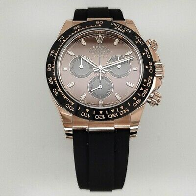 $ CDN47376.92 • Buy Rolex 116515 Cosmograph Daytona 18kt Everose Gold Chocolate Index NEW Complete