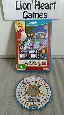 AU34.99 • Buy NINTENDO Wii U NEW SUPER MARIO BROS & SUPER LUIGI (NM) FREE POST & SIGNATURE
