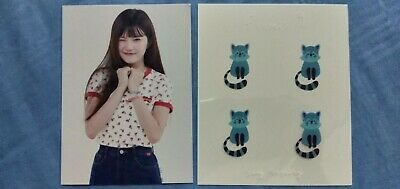 $ CDN25.37 • Buy *RARE* Fromis_9 Hayoung Official Showcase Goods To. Day 2nd Album Photocard