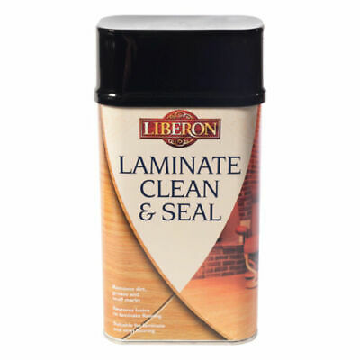 Liberon Clean And Seal Laminate Floor Cleaner 1 Litre Non-Aggressive Cleaner • 17.99£