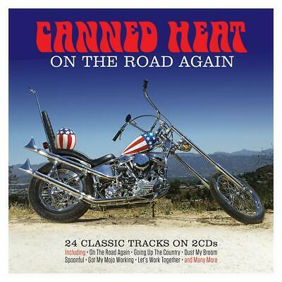 Canned Heat On The Road Again 24 Classic Tracks 2 CD Dimples Spoonful • 5.95£