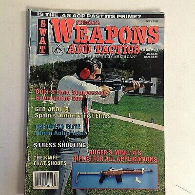 $8.99 • Buy Vintage July 1987 SURVIVAL WEAPONS AND TACTICS Magazine Shooting Knife Ruger M14