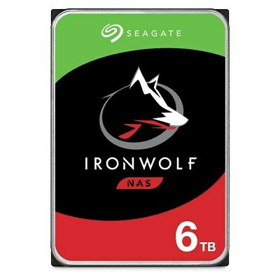 View Details Seagate IronWolf (6TB) 3.5 Inch SATA Internal Hard Disk Drive For NAS *Open Box* • 161.92£