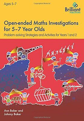 AU46.40 • Buy Open-ended Maths Investigations For 5-7 Year Olds