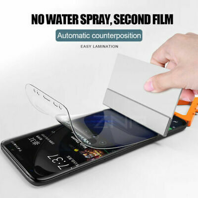 $ CDN5.51 • Buy 1/2/3Pcs Screen Protector Softs Film For Samsung Galaxy S7 Edge S8 Plus Note 8