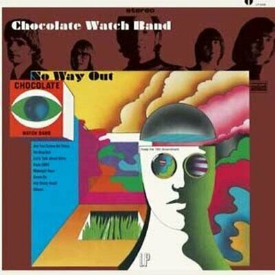 |060815| Chocolate Watch Band - No Way Out [LP X 1 Vinyl] New • 38.29£