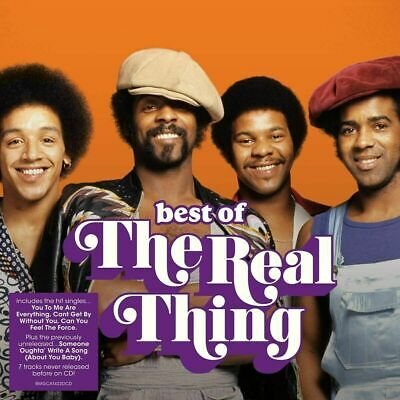 THE REAL THING THE BEST OF 2-CD SET (Released January 10th 2020) - Greatest Hits • 6.69£