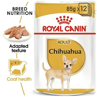 £44.99 • Buy Royal Canin Chihuahua Adult Wet Dog Pouches 85g X 48  FREE NEXT DAY DELIVERY