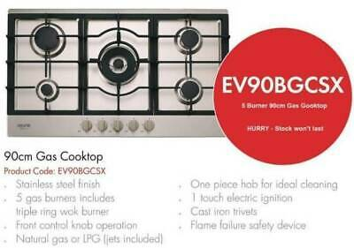 AU499 • Buy Euro 90cm - 5 Burner Gas Cooktop - LIMITED TIME SPECIAL