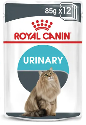 Royal Canin Urinary Cat Wet Pouches In Gravy 85g X 48  FREE NEXT DAY DELIVERY • 44.75£