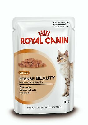 £14.75 • Buy Royal Canin Intense Beauty Cat Pouches In Gravy 85g X 12  FREE NEXT DAY DELIVERY