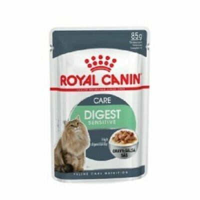 Royal Canin Digestive Cat Wet Pouches In Gravy 85g X 48  FREE NEXT DAY DELIVERY • 44.75£