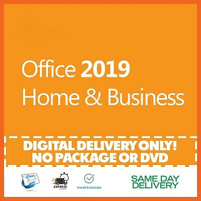 $14 • Buy Office 2019 Home And Business Product Key 🔐 Activation License ⭐