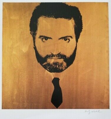 $395 • Buy Andy Warhol Hand Signed Portrait Of Gianni Versace From Exclusive Catalog