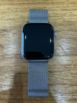 $ CDN417.36 • Buy Apple Watch Series 4 40 Mm Stainless Steel Case With Milanese Loop (GPS + Cell)
