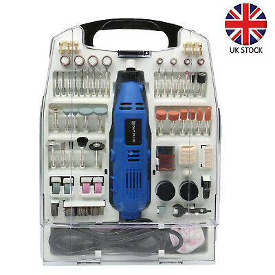 234pc Rotary Multi Tool Set Dremel Compatible Accessories Mini Drill Hobby • 28.34£
