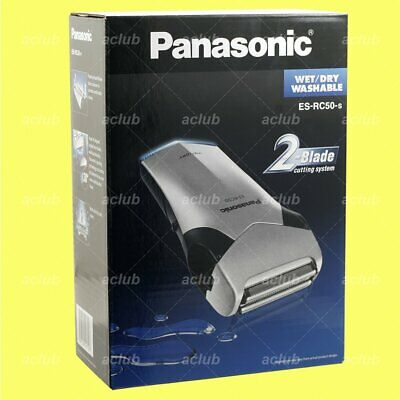 View Details Panasonic ES-RC50 Wet And Dry Washable Rechargeable Electric Men Shaver • 53.00£
