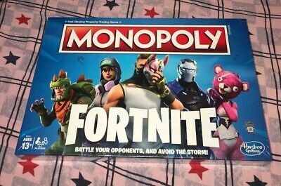 $9.99 • Buy NEW Monopoly Fortnite LIMITED EDITION Hasbro Board Game SEALED