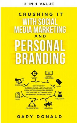 AU32.84 • Buy Crushing It With Social Media Marketing And Personal Branding By Donald, Gary.