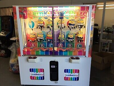 Coin Operated Dunk Tank Prize Vending Machine • 1,295£