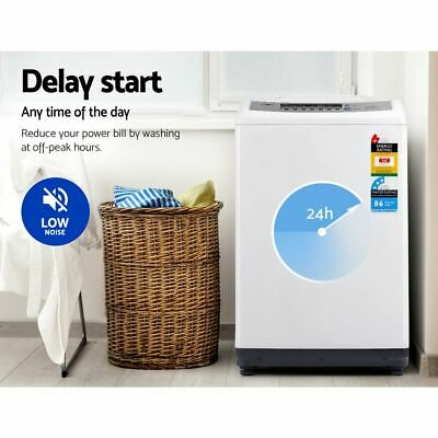AU511.50 • Buy Low Noise Washing Machine Automatic Top Load Washer LED Digital Control 10KG