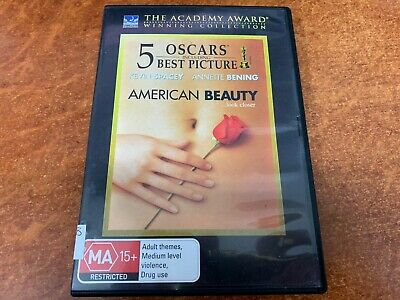 AU5.95 • Buy American Beauty (Kevin Spacey) (1999) (MA15+, DVD R4)