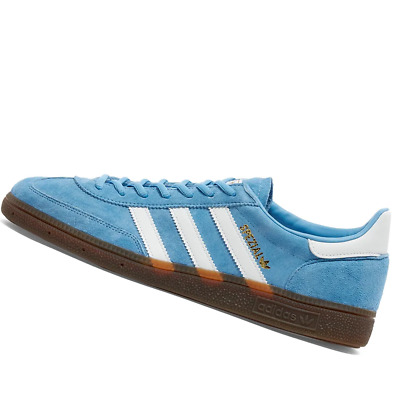AU191.95 • Buy ADIDAS MENS Shoes Handball SPZL - Light Blue, White & Gum - BD7632