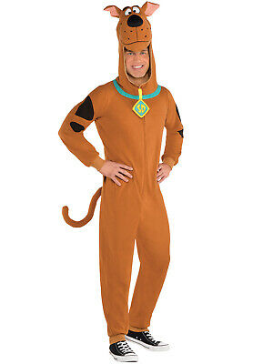 Adults Scooby Doo Costume Mens TV Film 90s Fancy Dress Stag Do Outfit 1990s • 24.95£