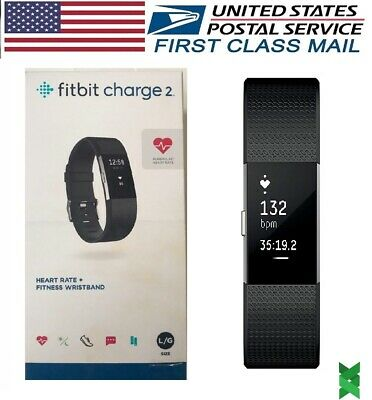 $ CDN83.77 • Buy Fitbit Charge 2 Heart Rate Monitor Fitness Activity Tracker Small Large Black
