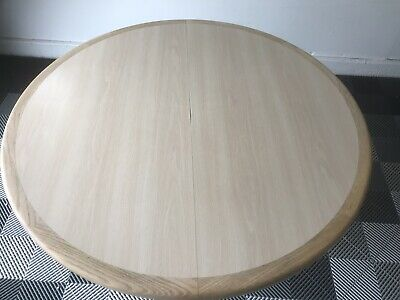 """$450 • Buy OVAL DINETTE DINING TABLE SET 42"""" With 2 Table Leaves"""