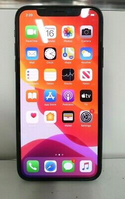 AU420 • Buy Apple IPhone X - 64GB - Space Grey (Unlocked) A1865 (CDMA   GSM) MQA52X/A