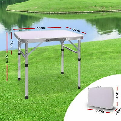 2FT Folding Portable Camping Picnic Kitchen Small Dining Table Bed Tray Foldable • 16.99£