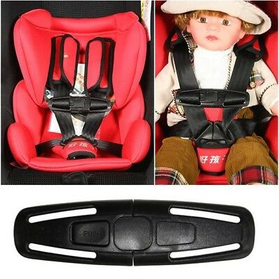 Baby Car Safety Seat Clip Strap Buckle Child Toddler Chest Harness Safe Lock • 3.99£