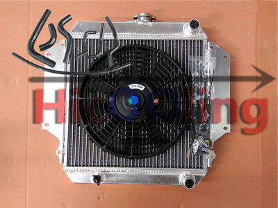 AU225 • Buy Radiator SIERRA SJ410 SJ413 1981-1996 MT 1.0 1.3 + Fan + Black Hoses For SUZUKI