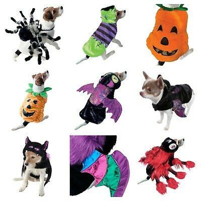£7.99 • Buy Pet Puppy Dog Halloween Scary Spooky Fancy Dress Outfit Trick Or Treat Jumper
