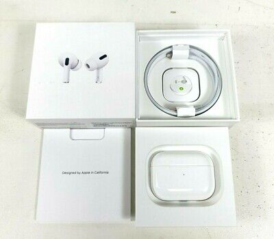 AU355 • Buy Apple AirPods Pro Wireless Charging Case White MWP22ZA/A - Bids From $1