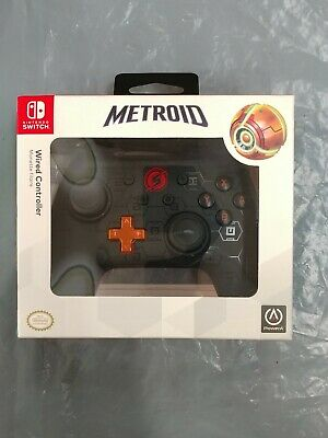 $29.95 • Buy Metroid Wired Controller For Nintendo Switch - PowerA - New - Sealed -fast Ship!