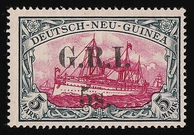 AU12999.99 • Buy NEW GUINEA - GRI 1914  GRI 5s  3½mm Yacht 5Mk MNH ** + CERTIFICATE Cat £28,000