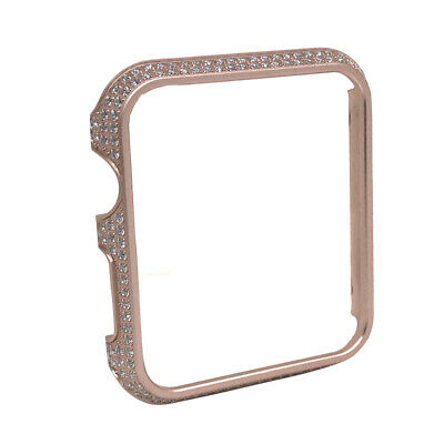 $ CDN122.45 • Buy Stainless Steel Rose Gold Tone Apple Watch Series #1 2 3 Bezel Insert Cover 42mm