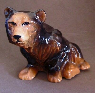 $29.50 • Buy  GRIZZLY BEAR  * REALISTIC! 'Rebus' Design * CERAMIC ARTS STUDIO * 1952 * NICE!
