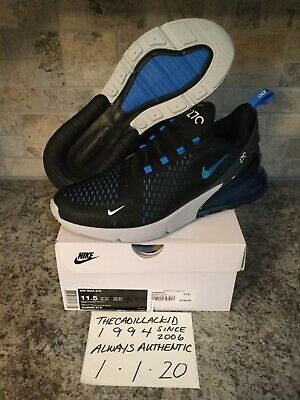 $13.50 • Buy 2019 DS Nike Air Max 270 Blue Fury Sz 11.5 NO RESERVE!! FREE SHIPPING!!!