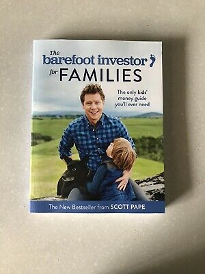 AU19.95 • Buy The Barefoot Investor For Families: The Only Kids' Money Guide You'll Ever Need