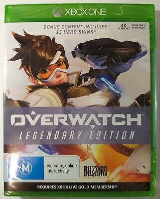 AU24.99 • Buy BRAND NEW SEALED | Overwatch : Legendary Edition | Microsoft Xbox ONE XB1