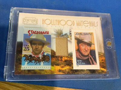 $13.50 • Buy John Wayne 2010 Panini Century Hollywood Materials Costume Relic Stamp Card /250