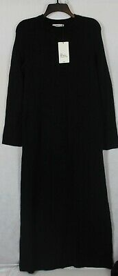 $9 • Buy Zara Women's  Zara Knit Dress US S 5536 Black Flared Sleeves  Women's