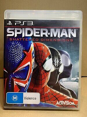 AU49.99 • Buy Spider-Man: Shattered Dimensions - Complete - PS3 - Sony Playstation 3 - AUS