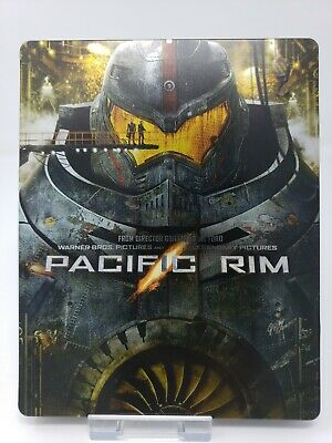 $32.99 • Buy PACIFIC RIM Debossed Blu-Ray Steelbook Limited Edition