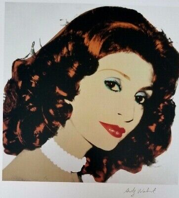 $99 • Buy Andy Warhol Hand Signed Portrait Of The Princess Of Iran From Exclusive Catalog
