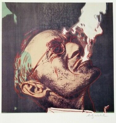 $99 • Buy Andy Warhol Hand Signed Portrait Of Hermann Hesse From Exclusive Catalog